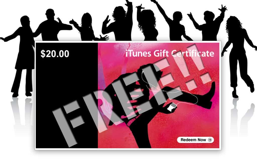Win a $20 iTunes Gift Card!!  Hurry Ends June 8th