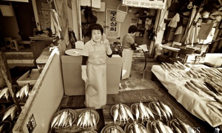 Travel Photo Of The Week: Ajjuma At The Fish Market – Busan, South Korea