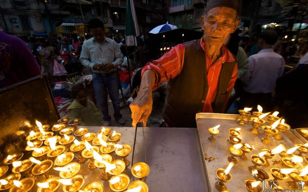 Travel Photo Of The Week: The Candle Lighter – Kathmandu, Nepal