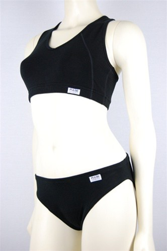 PULSE Active Wear V-Neck Sports Bra