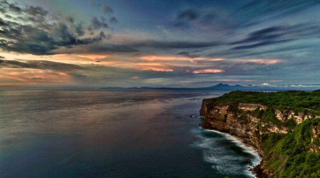 Travel Photo Of The Week: Uluwatu Cliffs At Sunset – Uluwatu Temple – Bali, Indonesia
