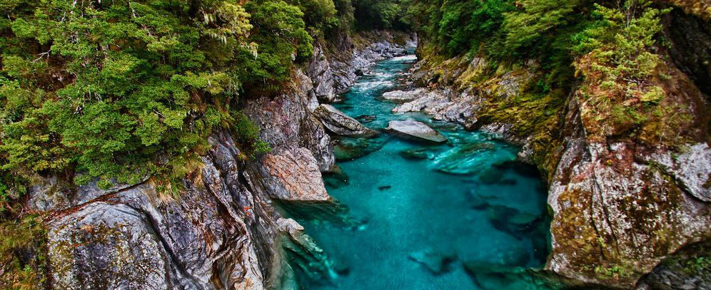 Travel Photo Of The Week: The Blue Pools – Haast Pass, New Zealand