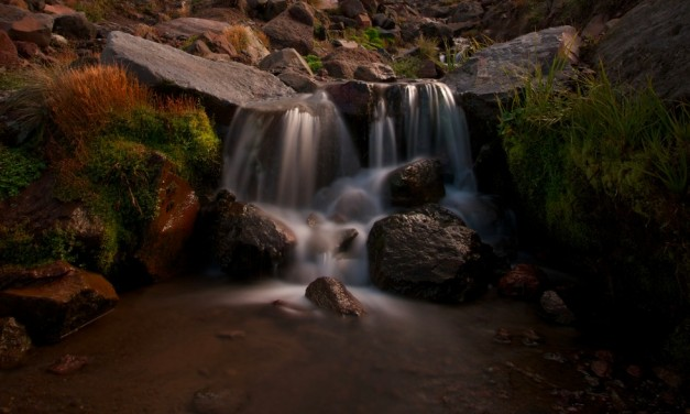 Travel Photo Of The Week: Waterfall On The Tongariro Crossing – National Park, New Zealand