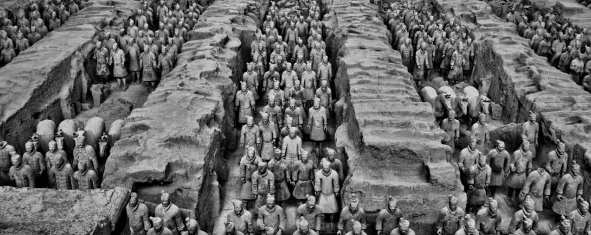 suspended in time  china u2019s terracotta army