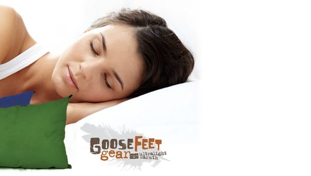 Travel Gear Review:  Travel Down Pillow – GooseFeet Gear
